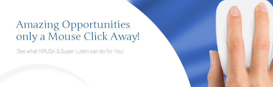 Amazing Opportunities only a Mouse Click Away